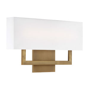 Manhattan Aged Brass 22-Inch 2700K LED Wall Sconce