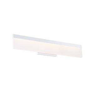 Verge White 25-Inch LED Bath Vanity