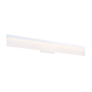 Verge White 37-Inch LED Bath Vanity