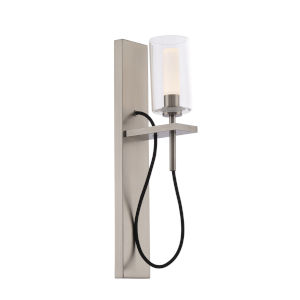 Eames Brushed Nickel LED Wall Sconce