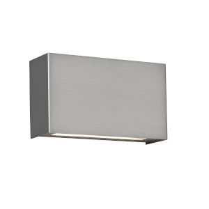 Blok Satin Nickel Four-Inch 12-Light 2700K LED Wall Sconce with Emergency Backup Battery