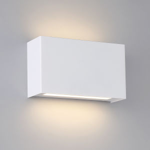 Blok Black Four-Inch Two-Light 2700K LED Wall Sconce with Emergency Backup Battery