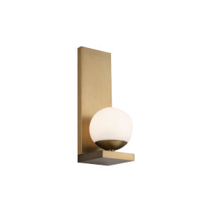 Hollywood Aged Brass LED Wall Sconce