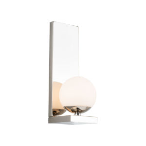 Hollywood Polished Nickel LED Wall Sconce