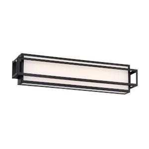 Equation Black Three-Inch 3000K LED Bath Bar Light