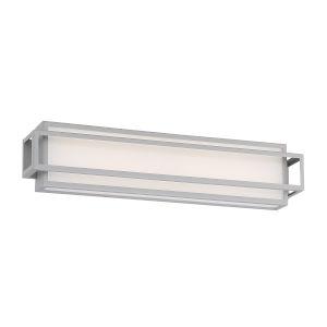 Equation Titanium Three-Inch 3000K LED Bath Bar Light