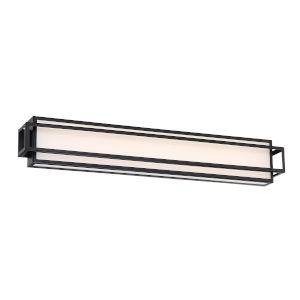 Equation Black 30-Inch 3000K LED Bath Bar Light