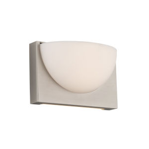 Mylie Brushed Nickel LED ADA Wall Sconce