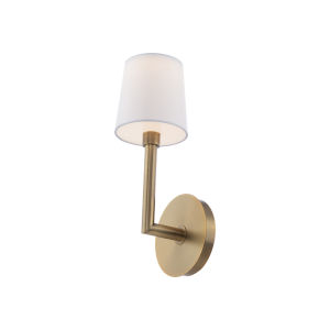 Jenna Aged Brass LED Wall Sconce