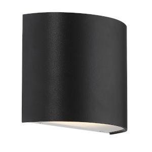 Pocket Black Three-Inch LED Wall Sconce