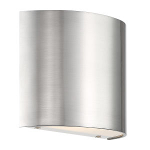 Pocket Brushed Nickel Three-Inch LED Wall Sconce