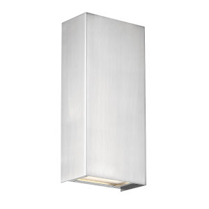 Blok Satin Nickel Three-Inch 3000K LED Vertical Wall Sconce