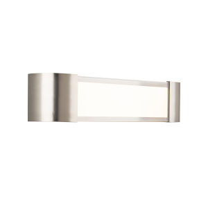 Melrose Brushed Nickel 22-Inch LED Bath Strip