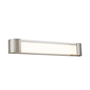 Melrose Brushed Nickel 32-Inch LED Bath Strip