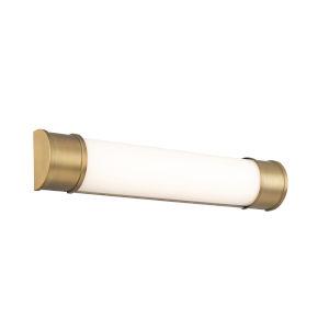 Mercer Aged Brass 24-Inch LED ADA Bath Strip
