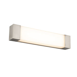 Darcy Brushed Nickel 24-Inch LED ADA Bath Strip