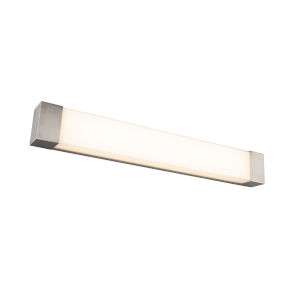 Darcy Brushed Nickel 36-Inch LED ADA Bath Strip