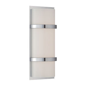 Vie Chrome Three-Inch 3000K LED Wall Sconce