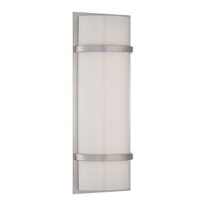 Vie Brushed Nickel Three-Inch LED Bath Vanity