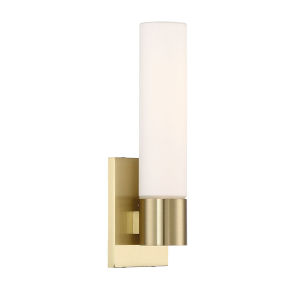 Elementum Brass Five-Inch 3000K LED Wall Sconce