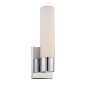 Elementum Chrome Five-Inch 3000K LED Wall Sconce