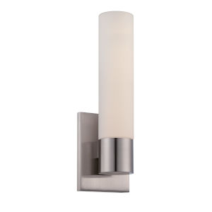 Elementum Brushed Nickel Five-Inch 3500K LED Wall Sconce