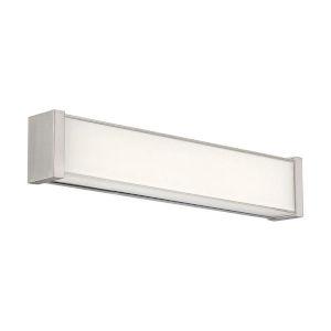 Svelte Brushed Nickel 16-Inch 3000K LED Bath Bar Light