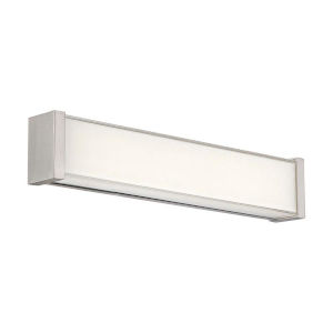 Svelte Brushed Nickel 16-Inch 3500K LED Bath Bar Light