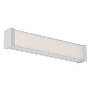 Svelte Chrome 16-Inch 3500K LED Bath Bar Light