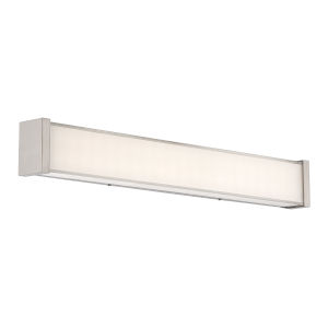 Svelte Chrome Two-Inch 3000K LED Bath Bar Light