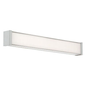 Svelte Brushed Nickel Two-Inch 3500K LED Bath Bar Light