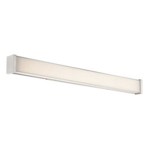 Svelte Brushed Nickel 34-Inch 3000K LED Bath Bar Light