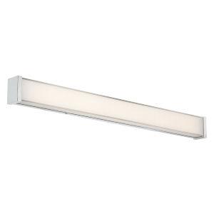 Svelte Chrome 34-Inch 3000K LED Bath Bar Light