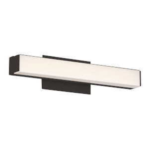 Brink Black Three-Inch 3000K LED Bath Bar Light