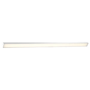 Revel Brushed Aluminum 74-Inch 3000K LED Bath Bar Light