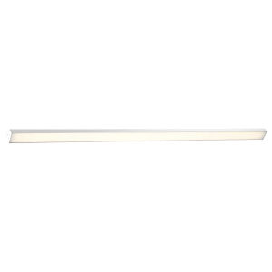 Revel Brushed Aluminum 98-Inch 3000K LED Bath Bar Light