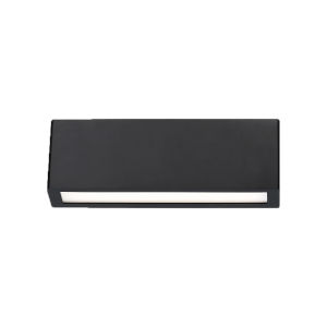 Verve Black Three-Inch Two-Light 3000K LED Outdoor Wall Sconce