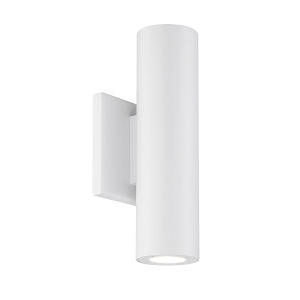 Caliber White Four-Inch LED Outdoor Wall Sconce