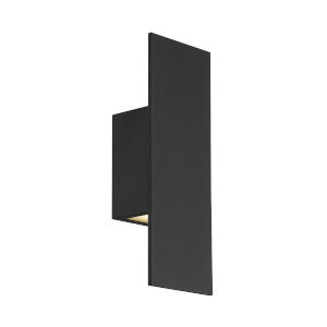 Icon Black 14-Inch Two-Light 3000K LED Outdoor Wall Sconce