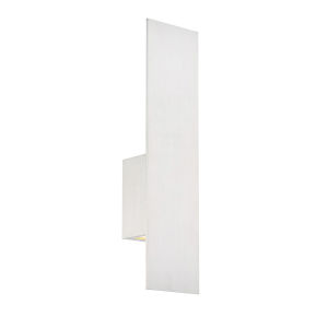 Icon Brushed Aluminum Three-Inch Two-Light LED Outdoor Wall Sconce