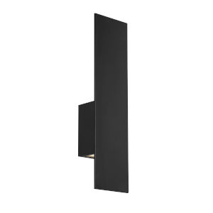 Icon Black 20-Inch 3000K Two-Light LED Outdoor Wall Sconce