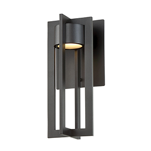Chamber Bronze 6-Inch LED Outdoor Wall Light