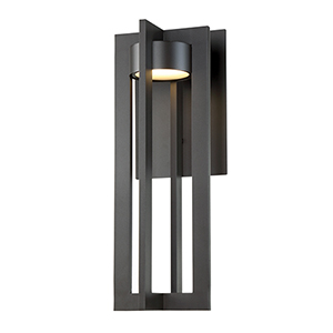 Chamber Bronze 20-Inch LED Outdoor Wall Light