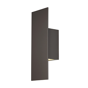 Icon Bronze 5-Inch LED Outdoor Wall Light