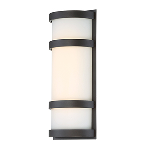 Latitude Bronze 14-Inch LED Outdoor Wall Light