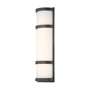 Latitude Bronze 20-Inch LED Outdoor Wall Light