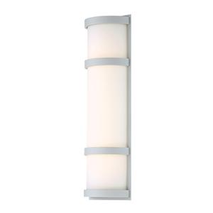 Latitude Titanium 20-Inch LED Outdoor Wall Light