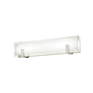 Meridien Brushed Nickel 27-Inch LED Bath and Wall Light