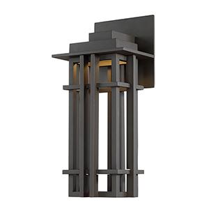 Nest Bronze 8-Inch LED Outdoor Wall Light