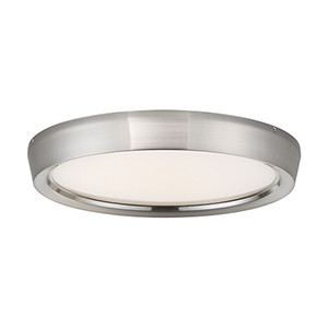 Planets Brushed Nickel 17-Inch LED Flush Mount